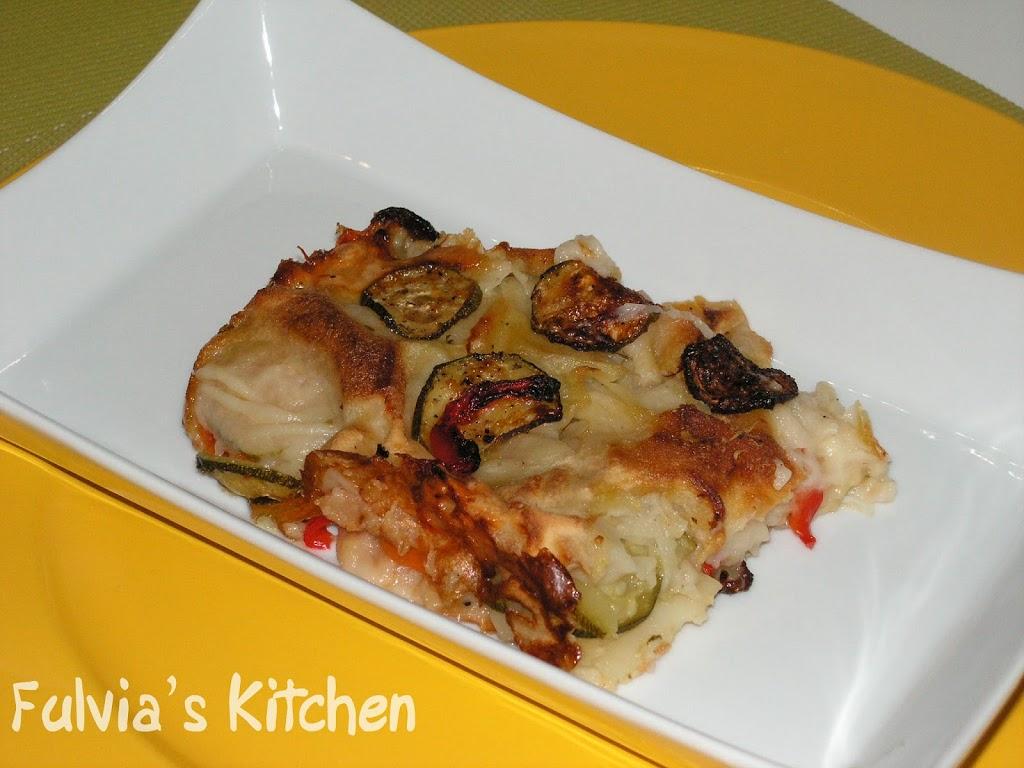 #Lasagne tutteverdure #light