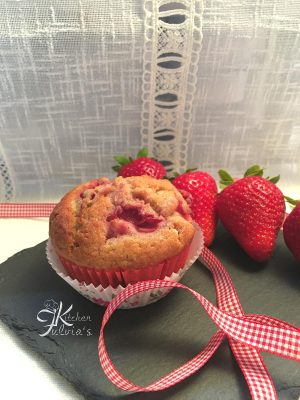 Muffin sofficissimi alle fragole