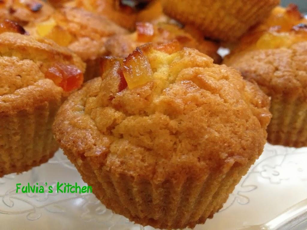 Muffin ai frutti tropicali