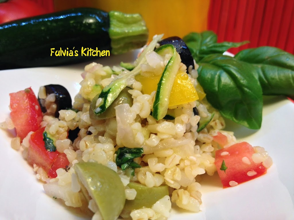 Ricetta light: insalata vegana di Bulgur