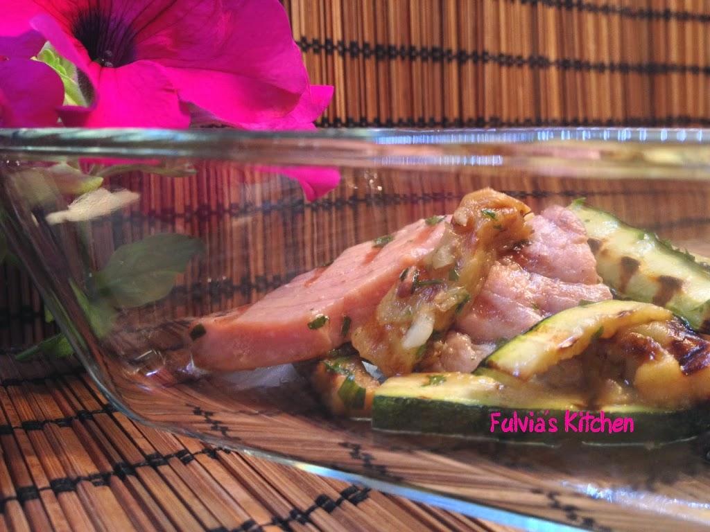 Ricetta light: Tonno in insalata con verdure grigliate