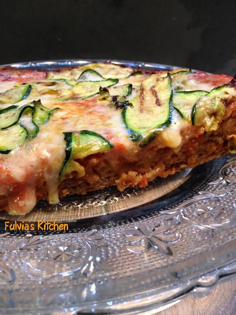 Pizza farro e grano saraceno con pasta madre a lenta lievitazione