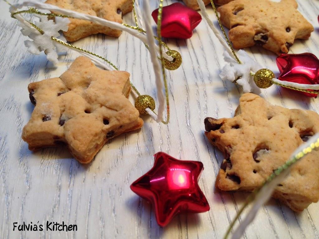 Biscotti vegan al cioccolato fondente