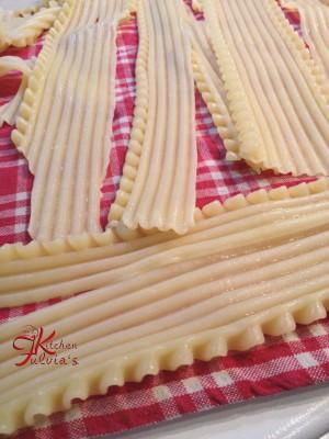 lasagne ai 4 formaggi e pere fritte3