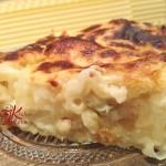 lasagne ai 4 formaggi e pere fritte9