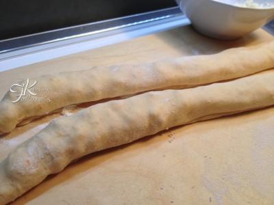 trecce alla zucca con pancetta e mozzarella6