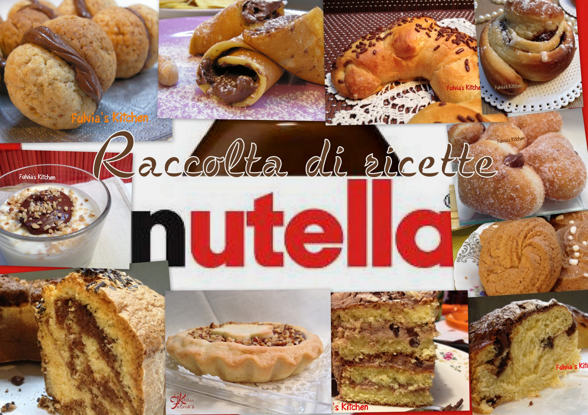 Raccolta ricette: Nutella