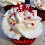 Red Velvet cupcakes alle nocciole
