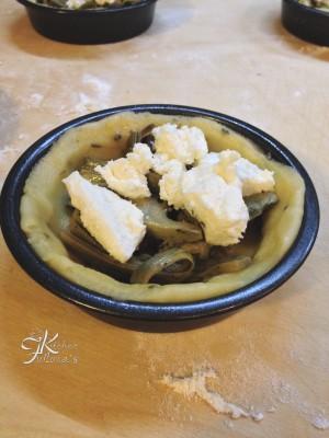 crostatine con carciofi, caprino e panna4