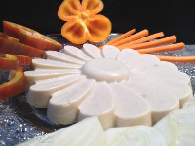 Bavarese salata con pepino e ricotta2