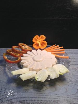 Bavarese salata con pepino e ricotta3