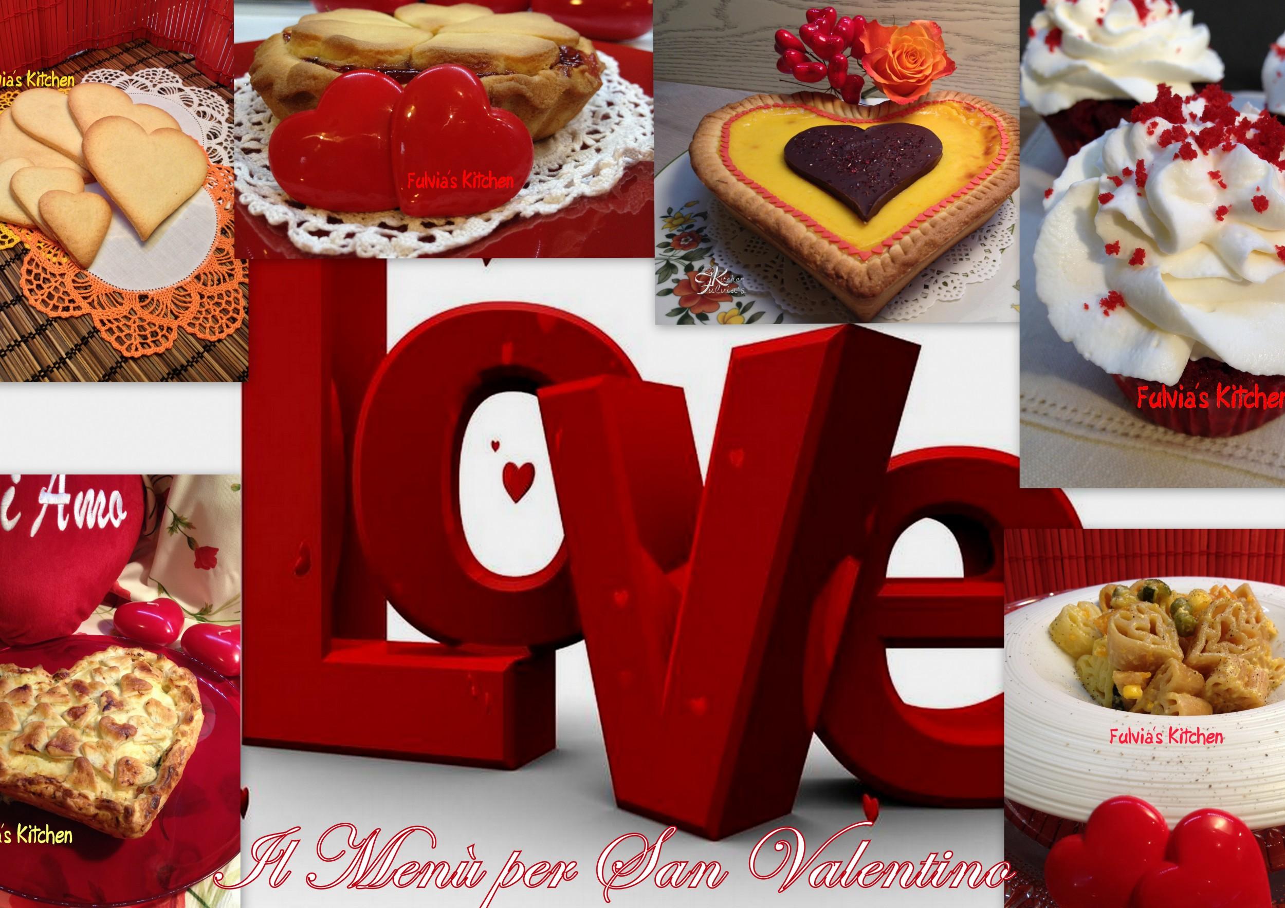 Menù per San Valentino