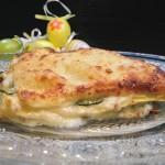 Lasagne cremose con carciofi e zucchine2