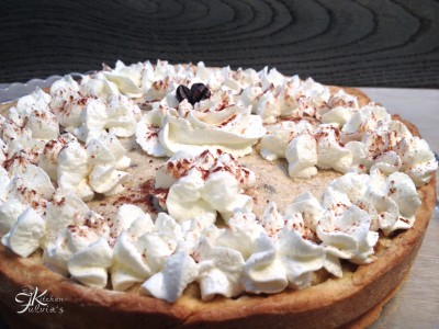Crostata con mousse al caffè