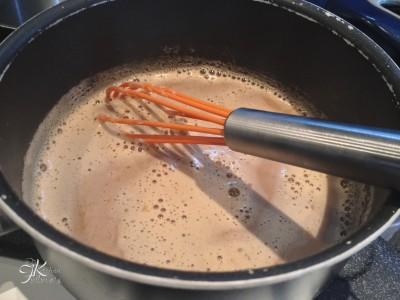 Crostata con mousse al caffè4