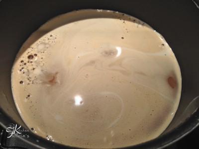 Crostata con mousse al caffè6