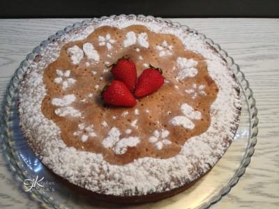Crostata con frolla alle fragole, crema pasticcera e fragole9