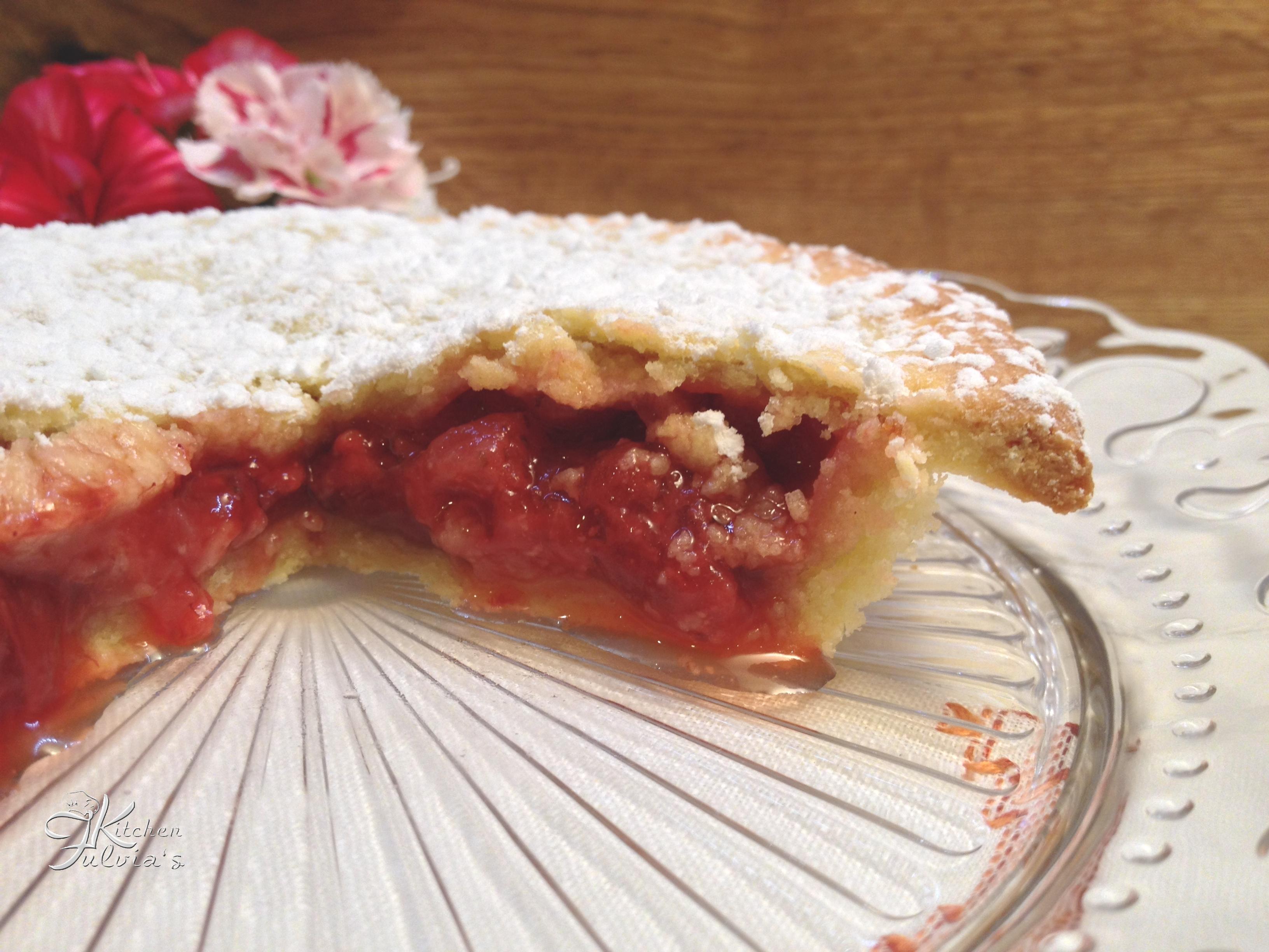 Strawberry pie – Crostata di fragole