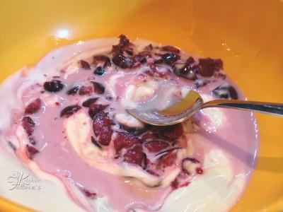 cuoricini gelato allo yogurt e ciliegie4