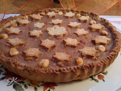 crostata integrale con miele e nocciole3