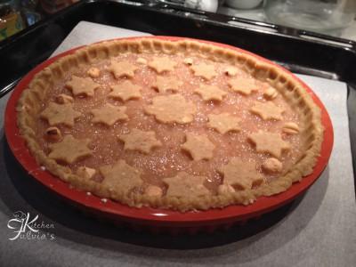 crostata integrale con miele e nocciole4