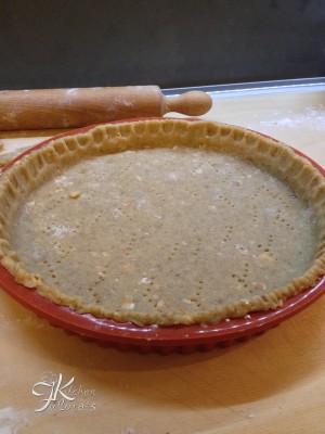 crostata integrale con miele e nocciole5
