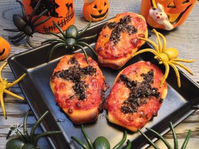 Pizzette bara per Halloween1