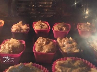 mini plum cake integrali con mele e pere3