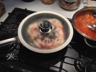 pizza in padella con pasta madre3