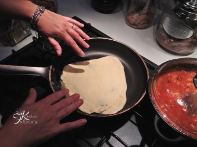 pizza in padella con pasta madre7