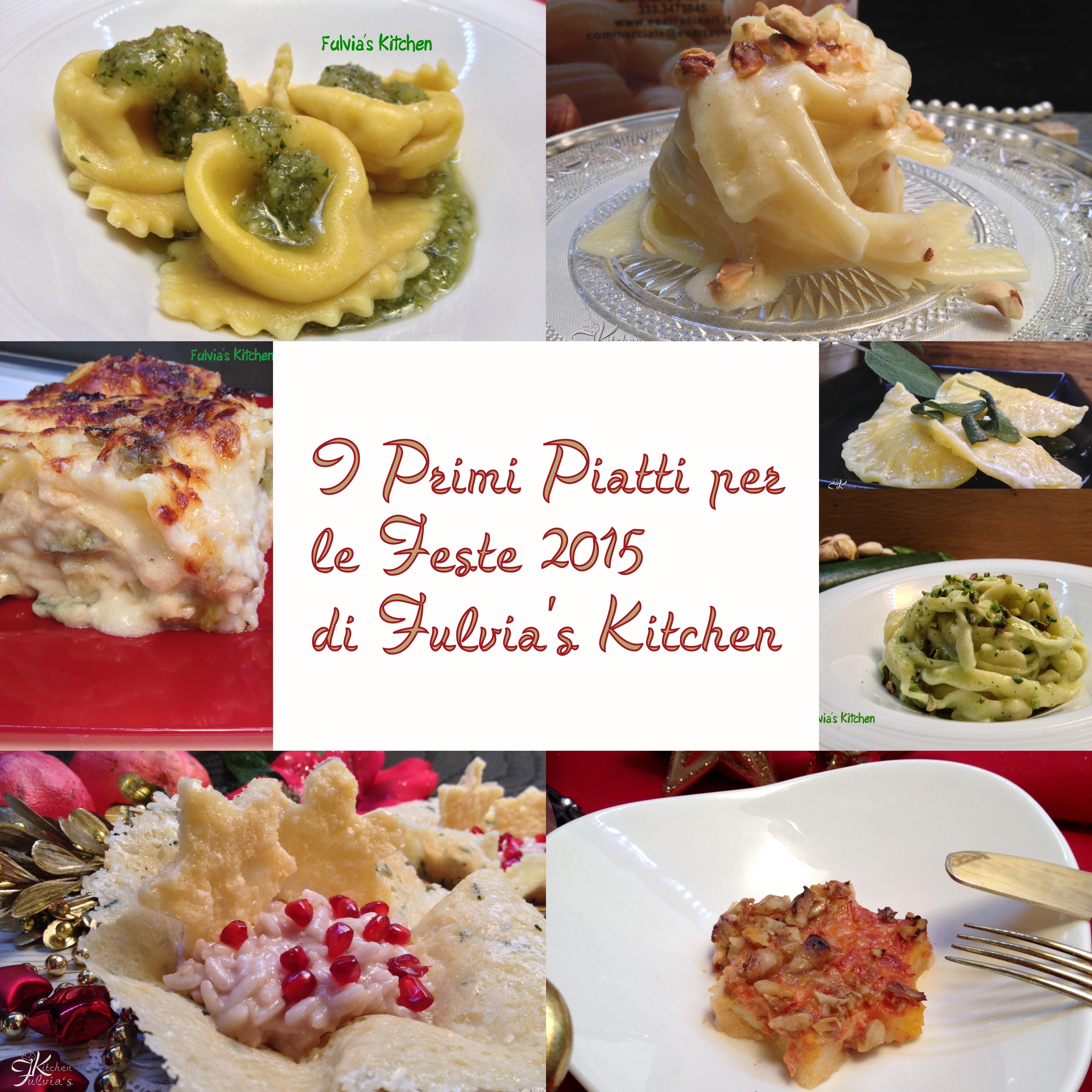 Primi piatti per le Feste 2015