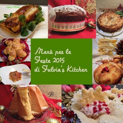 Menù per le feste 2015