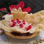 risotto con melagrana e stracchino in cestini di parmigiano10