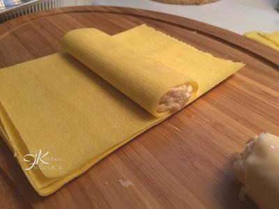 Cannelloni salmone affumicato e mascarpone