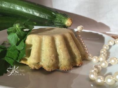 Flan di zucchine e mozzarella