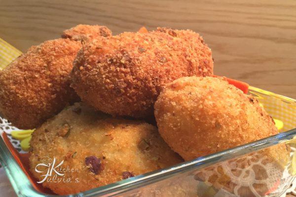 crocchette di patate, piselli e mozzarella7