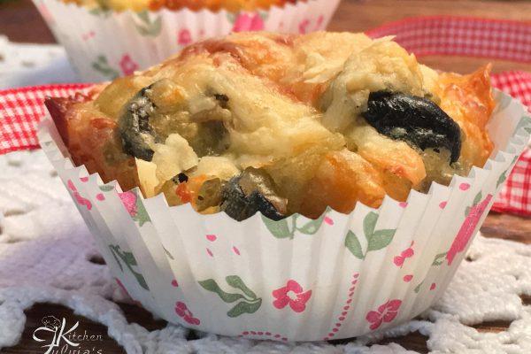 muffin verdure e groviera