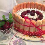 charlotte alle ciliegie senza cottura2
