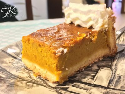 Pumpkin pie o crostata di zucca a modo mio