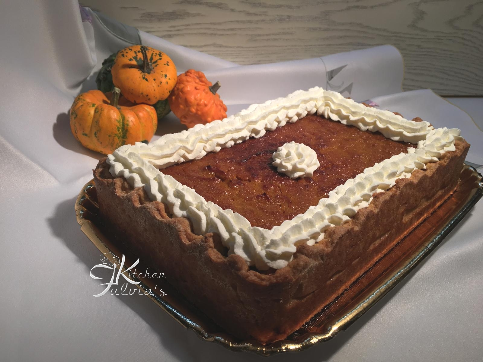 Pumpkin pie o crostata di zucca a modo mio – videoricetta