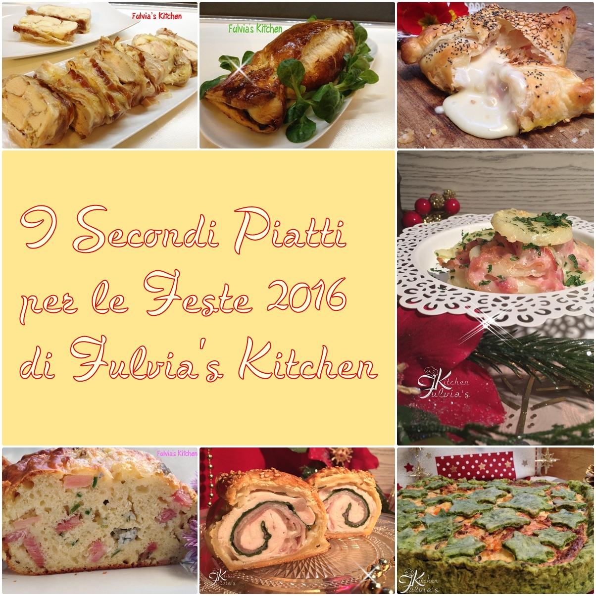 Secondi piatti per le Feste 2016