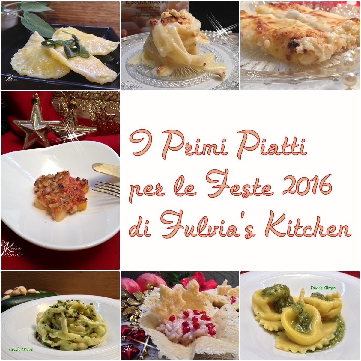 Primi piatti per le Feste 2016