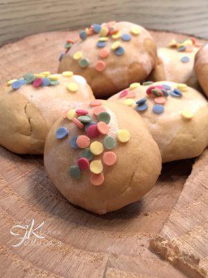 Biscotti alla vaniglia con pasta madre