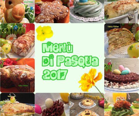 Menù di Pasqua 2017