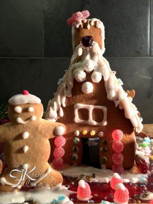 Casetta di pandizenzero per Natale