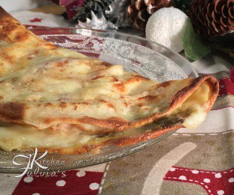 Crepes con carciofi, pancetta e mozzarella – ricetta golosa
