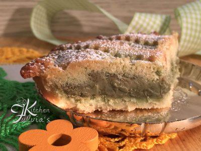 Crostata alla crema di pistacchio - ricetta facile