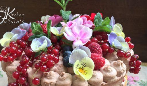 Naked cake – torta nuda alle fragole