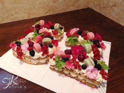 Cream tart con frolla alle noci pecan - la torta del 2018