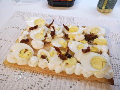 Cream tart salata di pasta sfoglia con gorgonzola